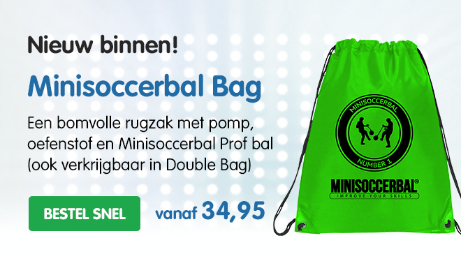 minisoccerbal-bag-groen