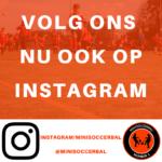 Volg Minisoccerbal op Instagram